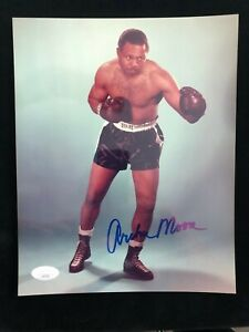 Archie Moore Signed Autographed Photo - JSA - World Champion Light Heavyweight