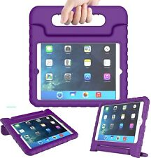 Kids Child Shockproof iPad Case Cover EVA Foam Stand For Apple iPad 2 3 4 Purple