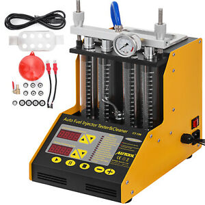 Autool CT150 Ultrasonic Fuel Injector Cleaner Machine Tester For Car Motor 220V