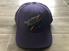 Vintage 90s Nike AIR Fitted Hat Cap size 7 1/4  Jordan Fresh Prince Purple RARE
