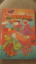 WUZZLES ANNUAL 1986 KIDS BOOK
