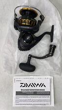 Daiwa Bg5000 Black & Gold Freshwater/Saltwater Spinning Fishing Reel Bg 5000