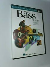Play Bass Today Hal Leonard DVD the Ultimate Self-Teaching Method Instructional