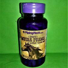 Muira Puama 1100 mg 90 capsulas Piping Rock afrodisiaco