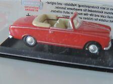 Brekina SNCF H0 1:87 Peugeot 403 cabriolet rossa