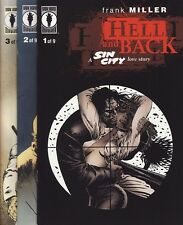 SIN CITY: HELL AND BACK #1,2,3,4,5,6,7,8 & 9 Dark Horse Comics FRANK MILLER Set!