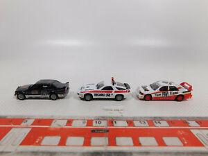 CN302-0, 5 #3x Herpa Motor Sport H0 / 1:87 Model: Porsche Ons + Mercedes 190,