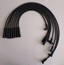 PONTIAC 1974-1981 265,301,350,400,455 HEI 8mm BLACK SPIRAL CORE SPARK PLUG WIRES