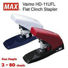 MAX HD-11UFL Flat Clinch Desktop Heavy Duty Stapler (max. staple up to 80 pages)