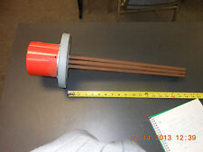"""Watlow FMS718A5-20 Heating Element 3"""" Flanged 480V /3ph 3kW 18"""" insertion"""