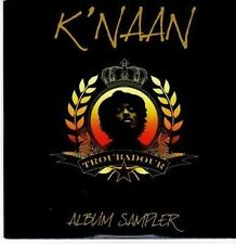 (CE853) K'Naan, Troubadour album sampler - 2009 DJ CD