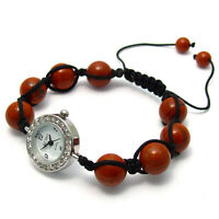 ECHO' Beautiful Semi-precious Shamballa Style Watch and Bracelet Set no.4