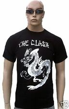 Bravado OFFICIEL THE CLASH produits ROCK STAR ASIE Tattoo Dragon Tee-shirt G.L