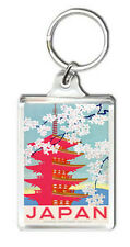 VINTAGE JAPAN JAPANESE RAILWAY KEYRING