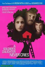 "MOVIE POSTER~A Soldier's Daughter Never Cries 27x40"" Original Film Print 1998~"