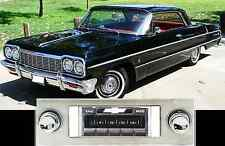 USA-630 II* 300 watt '63-64 Impala Bel Air AM FM Stereo Radio iPod USB Aux input