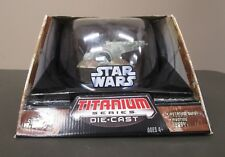 "Boba Fett Slave 1 2006 STAR WARS Titanium Series Die Cast MIB 7"" Large Ultra"