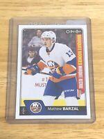 NHL 2016-17 O-Pee-Chee #689 Matthew Barzal Marquee Rookies Update