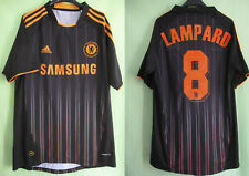 Maillot vintage Chelsea 2010 Lampard #8 Adidas Samsung Champions League Away - M