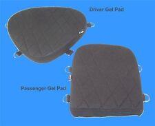 Motorcycle Driver & Passenger Seat Gel Pad Set for Yamaha V-Star 650 Models