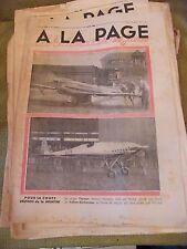A la page N°165 Mai 1933 Avion Farman Kelner Béchereau Coupe Deutsch Meurthe