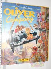 OLIVER & COMPANY 1989 Disney Panini italy sticker book - album figurine completo