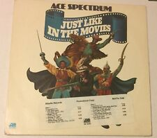 ACE SPECTRUM Just Like In The Movies LP Atlantic promo