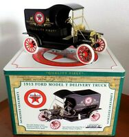 BOITE TEXACO 1913 FORD MODEL T delivery truck GEARBOX 1:16 édition limitée