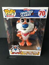 "TONY THE TIGER 10"" INCH FUNKO AD ICONS POP VINYL FIGURE FUNKO SHOP EXCLUSIVE #70"