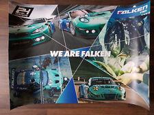 Falken Motorsport 24h Nürburgring 2018 #33 BMW M6 GT3 #44 Porsche 911 GT3 R