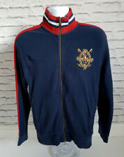 Polo Ralph Lauren Zip Pull Bleu Marine Hommes Taille S