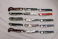 Lot Of 15 Franmara Italy TSA Confiscated Corkscrews Lot 223