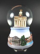 Schneekugel Spieluhr Berlin Brandenburger Tor Snowglobe 12 Cm Souvenir Germany