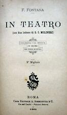 TEATRO MUSICA CRITICA SECOLO XIX°