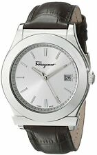 Salvatore Ferragamo Men's FF3970014 1898 Stainless Steel Date Swiss Watch