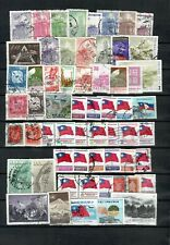 CHINA ASIA  COLLECTION OF USED COMMEMORATIVE & CLASSIC STAMPS  LOT (CHINE 368)