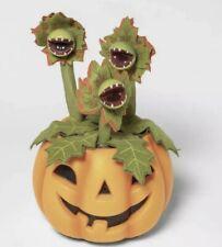 Hyde & EEK!  Animated Pumpkin w/ Dancing / Singing Plant Vines Halloween Décor