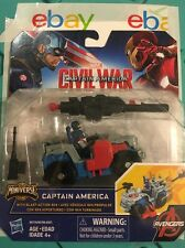 Marvel Captain America Civil War Captain America Blast-Action 4x4 Avenger Launch