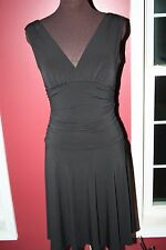 Arden B black dress women's size medium  stretchy little black dress