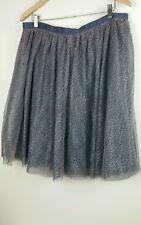 Isaac Mizrahi for Target Double Layer Tulle Skirt Gray Sz. 14