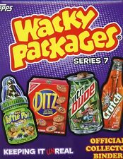 Wacky Packages Sticker Series 7 Collector Album Topps 2010