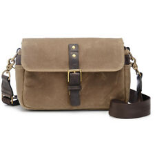 NEW ONA BOWERY CAMERA BAG CANVAS FIELD TAN WATER-RESISTANT WAXED CANVAS BAGS