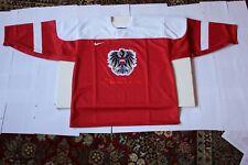 Austria olympic hockey jersey Sochi 2014 Nike XL size