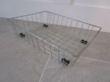 Vintage Wire Letter Tray Basket - Retro Office Industrial