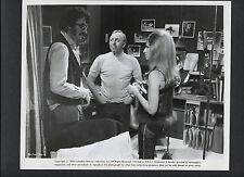 BARBRA STEISAND + DIRECTER HERBERT ROSS ON SET CANDID - 1970 OWL & THE PUSSYCAT