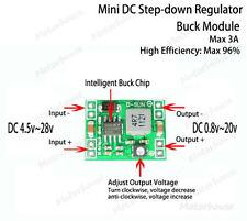 DC-DC Step Down Buck Mini Module 3.3v 5v 6v 9v 12v Adjustable Voltage Regulator