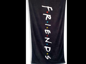 Friends Logo Large Towel 75x150cm NWT official