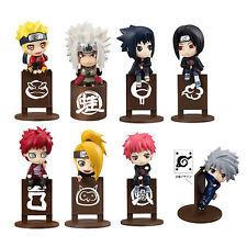 Naruto Tea Time Uchiha Itachi Uchiha Sasuke Hatake Kakashi 8pcs Set Figur NB