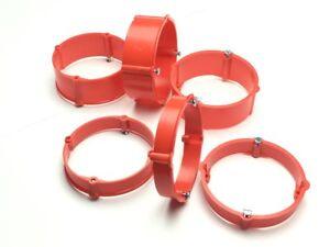 1-100 Stück Putzausgleichsringe Höhe 12mm / 24mm für Dosen Ø 60mm Schalterdosen