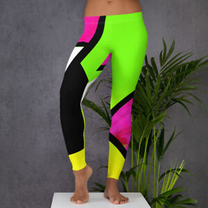Neon Color Blocking / Leggings